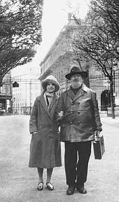 Отец и дочь в париже